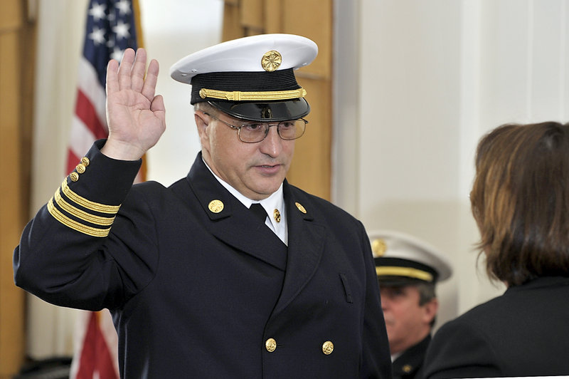 New Portland Fire Chief Jerome LaMoria