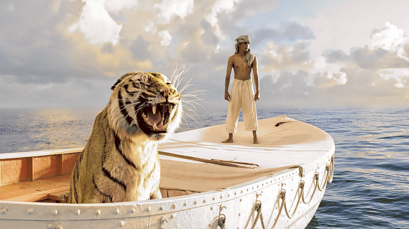 """Ang Lee wins the Oscar for best director for """"Life of Pi,"""" which also won for cinematography and visual effects. It is also nominated for best picture."""