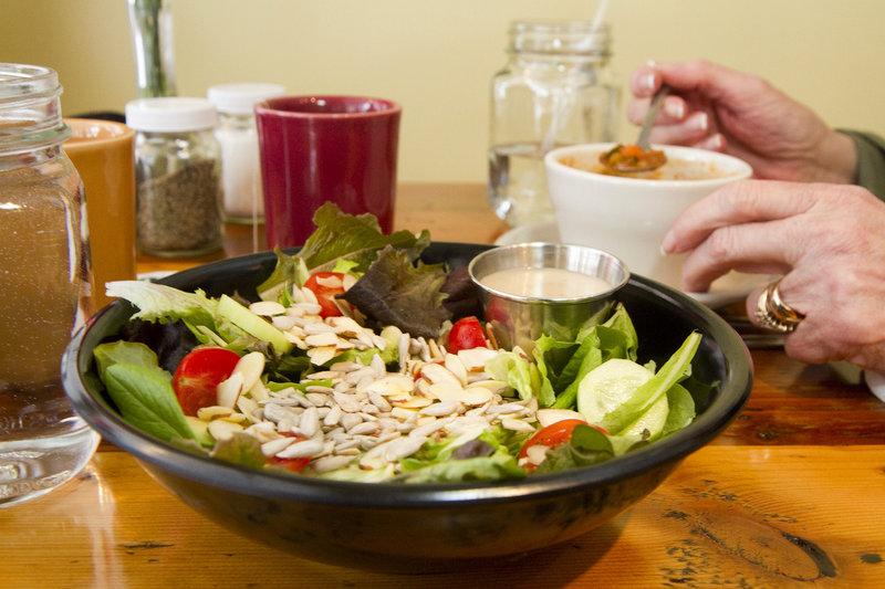 Dahlia's salad