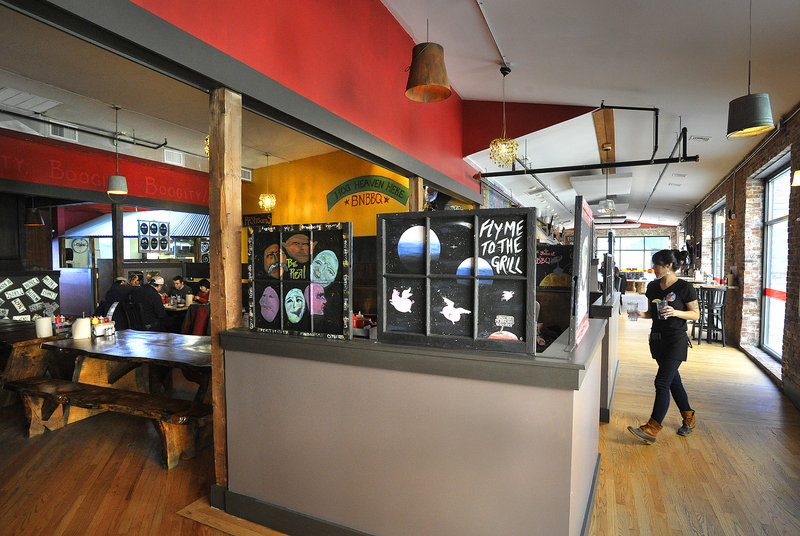 Buck's Naked BBQ Steakhouse opened recently in the Wharf Street space in Portland formerly occupied by Havana South.