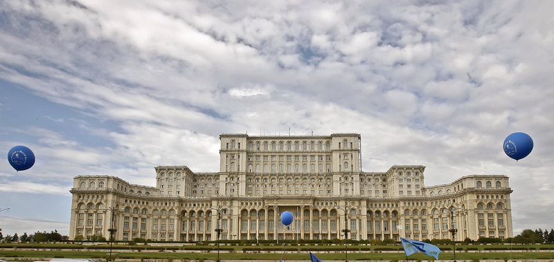 The Palace of the Parliament, commissioned by former dictator Nicolae Ceausescu, has slowly emerged since the fall of communism as a popular tourist attraction, visited by tens of thousands of Romanians and foreigners every year. The palace is home to Romania's Parliament and Constitutional Court.