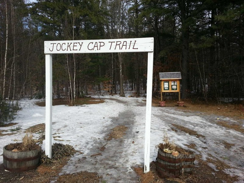 The quick hike up Jockey Cap was a great way for the Almeidas to spend a winter afternoon training for a greater challenge.