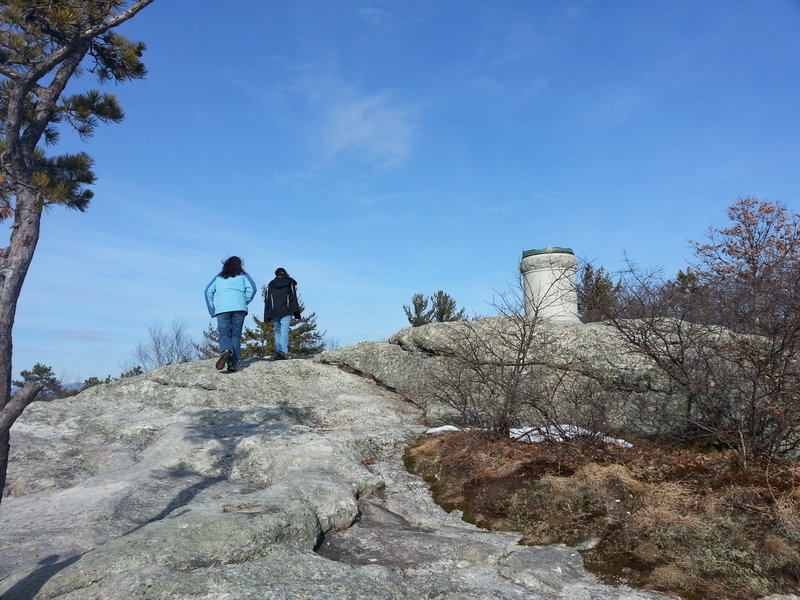 From the summit of Jockey Cap, hikers are treated to a 360-degree view of the surrounding mountains in western Maine – and get valuable training for more ambitious outdoors endeavors.