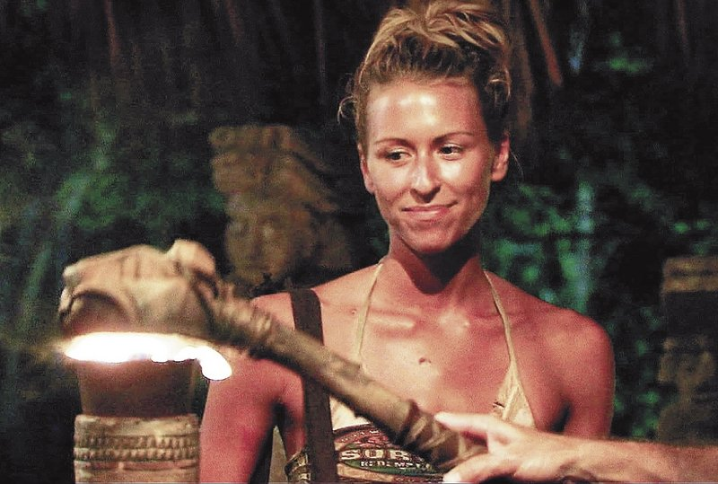 "Ashley Underwood has her torch snuffed out after she was voted out in the season finale of ""Survivor: Redemption Island,"" which was broadcast on CBS on May 15, 2011. Underwood made it to the final four before being ousted."