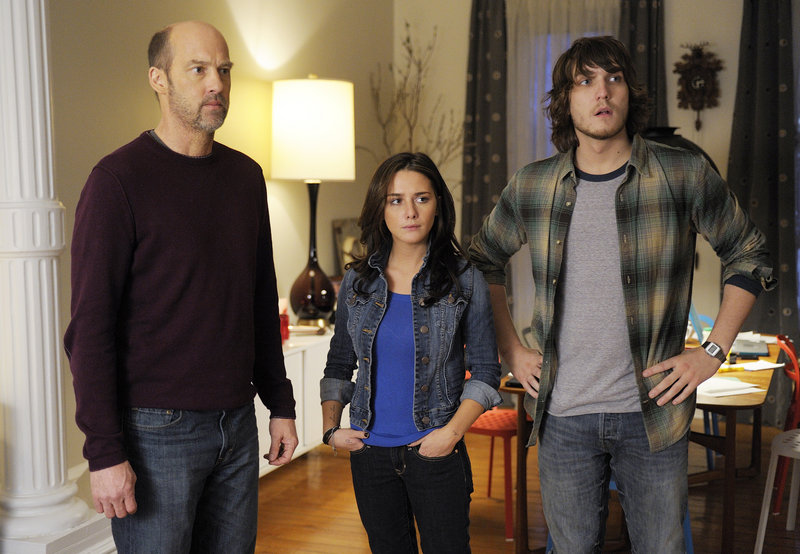 """Anthony Edwards, left, Addison Timlin and Scott Michael Foster are shown in a scene from """"Zero Hour,"""" which premieres Thursday on ABC."""