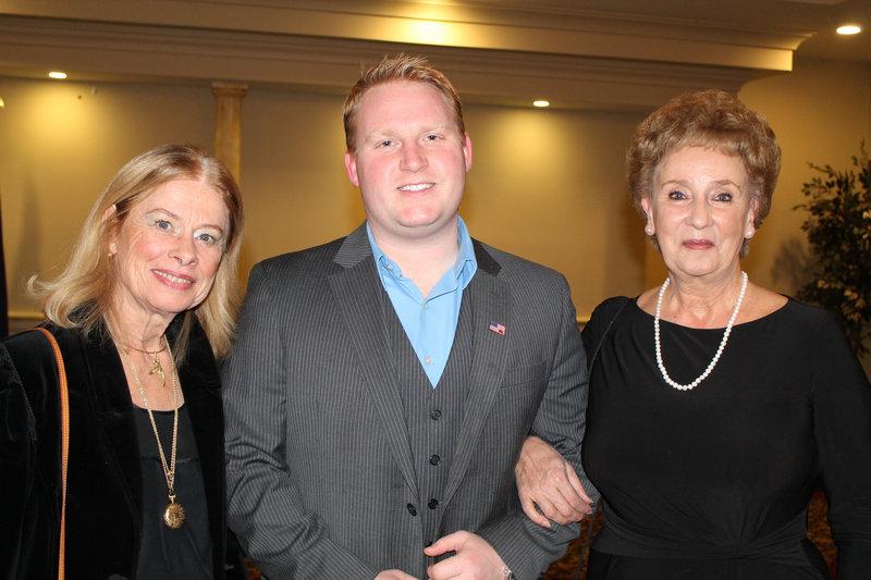 Portland residents Gail Rae Carter, left; Ben Roberts and Arline Waecker.