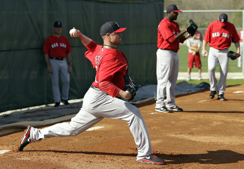 Jon Lester had been one of Boston's top pitchers until last season, and assures everyone that he's setting the highest expectations for himself in 2013.