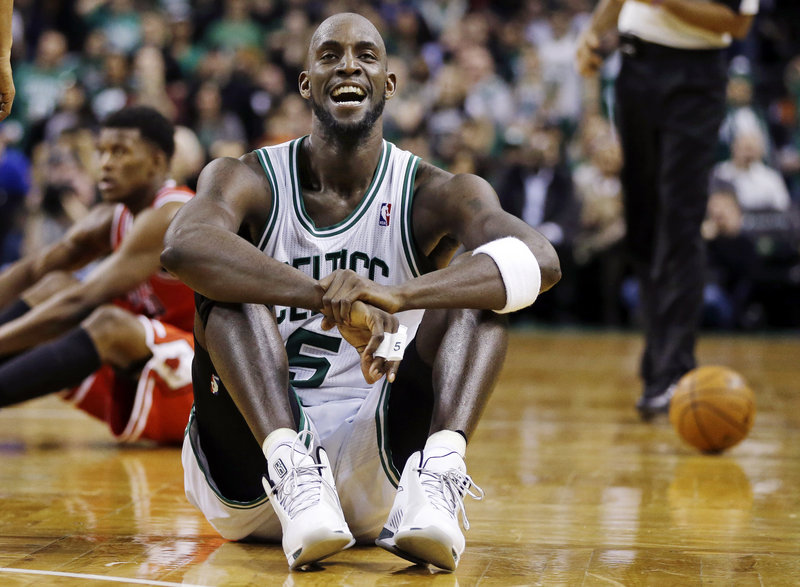 """Kevin Garnett, who hasn't announced his retirement but said this will be his last All-Star game, is refusing to take time off even with a whirlwind schedule. """"I've seen everybody playing through everything, and I'm no different …"""""""