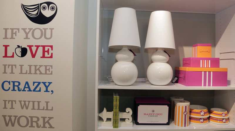 """Jonathan Adler """"Happy Chic"""" products at a J.C. Penney location in Dallas."""