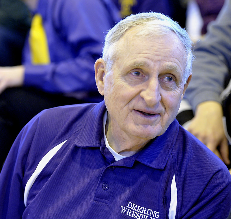 "Al Kirk, head wrestling coach at Deering High for 35 years: ""I don't know what they're thinking. It is not a politically sound move for them to do this. It's the oldest sport, dating back to the Romans and Greeks. Almost all the countries around the world have it."""