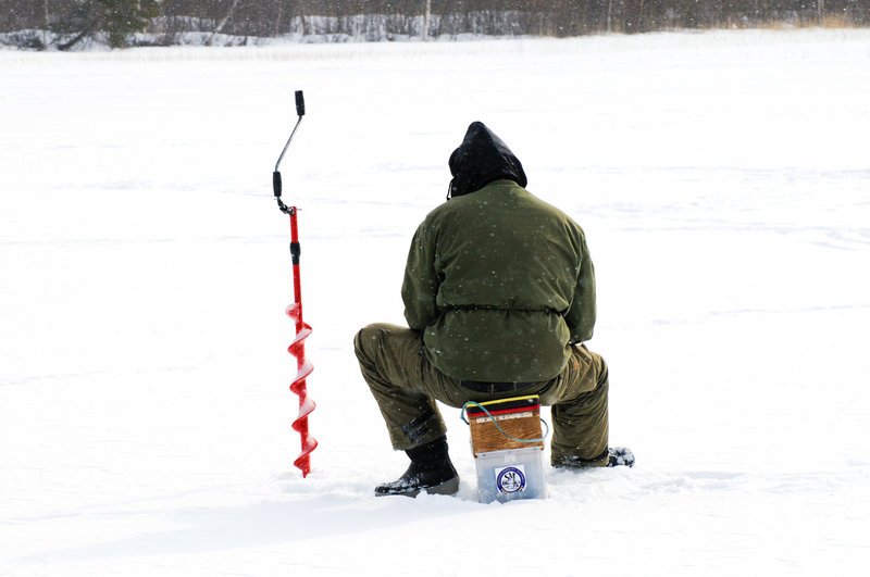 Go fish: The fourth annual Crystal Lake Ice Fishing Derby runs from 6 a.m. to 2 p.m. Saturday in Gray.