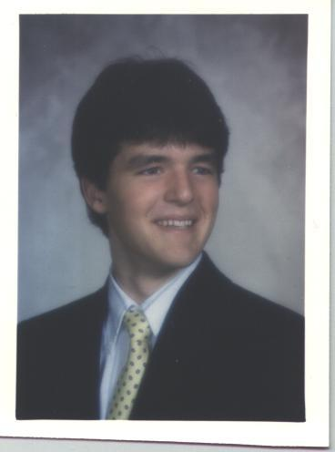 Eric Saindon's Gorham High School graduation picture.