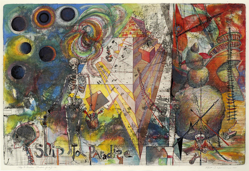 "Robert Neuman's ""Ship to Paradise – Paradise Found,"" 1983."