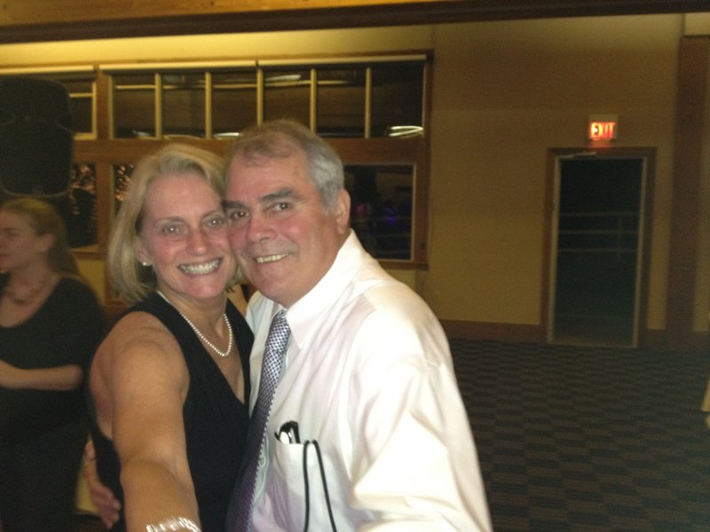 Buddy Earle is shown with his wife, Kathy. They were married in 1976.