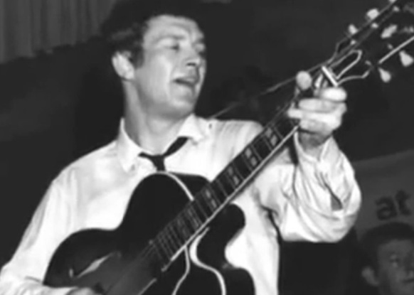 Tony Sheridan in his early days.
