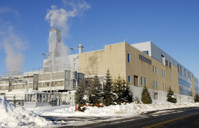 In this December 2008 file photo, the National Semiconductor's facility in South Portland. National Semiconductor was one of several businesses to testify Wednesday, March 13, 2013 against Gov. LePage's proposal to eliminate the Business Equipment Tax Reimbursement program.