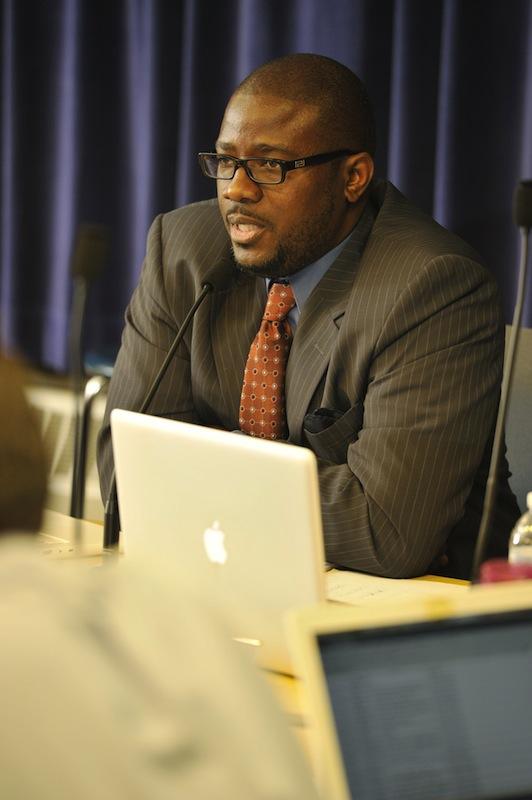 Portland School Superintendent Emmanuel 'Manny' Caulk