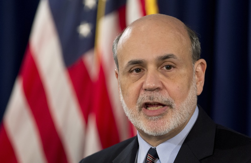 Federal Reserve Chairman Ben Bernanke speaks during a news conference in Washington, Wednesday, March 20, 2013, following the Federal Open Market Committee meeting. (AP Photo/Manuel Balce Ceneta)