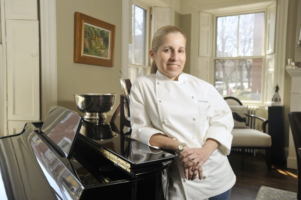 Chef Carmen Gonzalez is pictured at the Danforth Inn in this April 11, 2012 file photo.