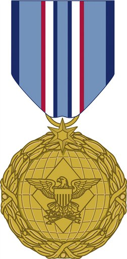 This image released by the Department of Defense shows the newly announced Distinguished Warfare Medal.