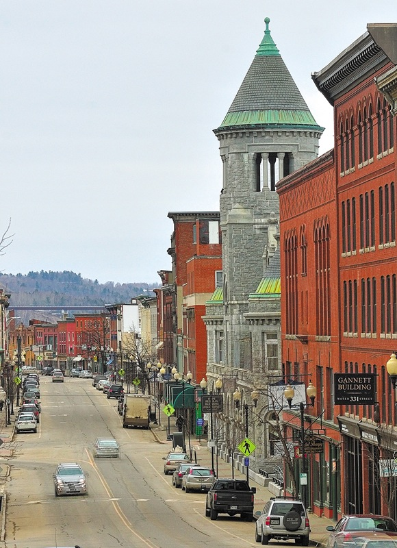 This photo shows downtown Augusta last Thursday. A proposal for the city's downtown to become a Main Street Maine program was recently presented to the Augusta City Council.