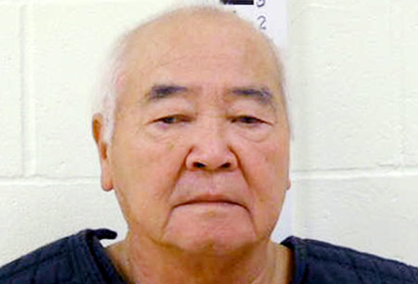 An undated booking photo James Pak, 74, of Biddeford, provided by the York County Jail.