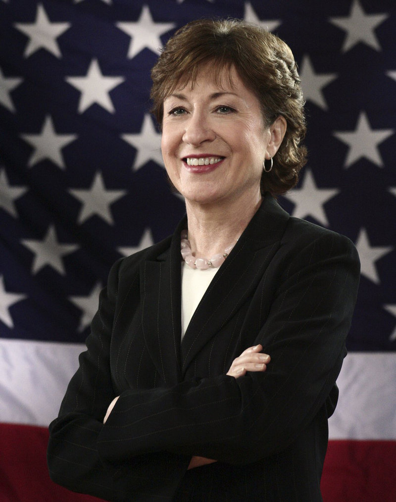 U.S. Sen. Susan Collins, R-Maine