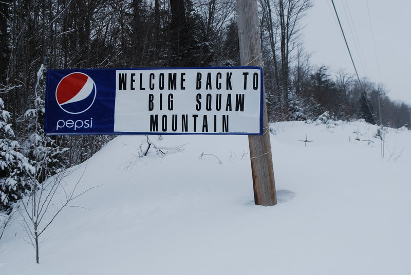 It's welcome back indeed to the reopened Big Squaw, which reopened last month with the help of an avid friends group and business sponsors.
