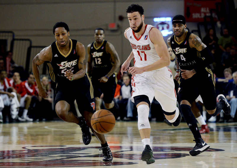 Jeremiah Rivers is back on a basketball court and loving every minute, playing for the Maine Red Claws. He went through 15 months without the sport while recovering from surgery to both feet, removing bone spurs on both.