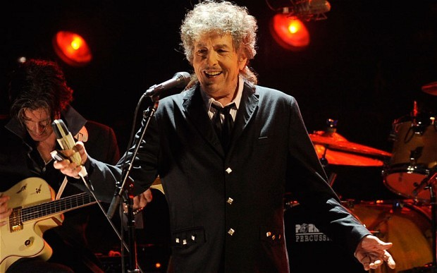 Bob Dylan performs with Dawes on April 10 at the Androscoggin Bank Colisee in Lewiston. Tickets go on sale Friday.