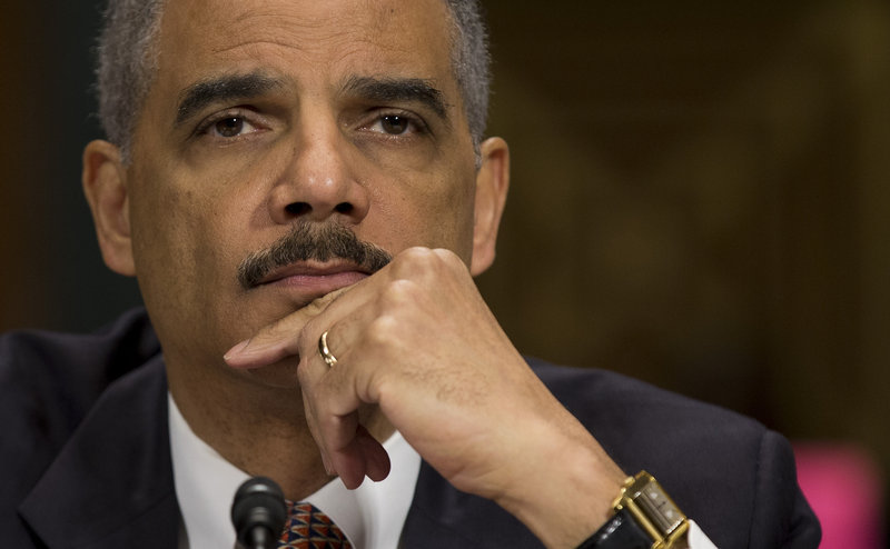 Attorney General Eric Holder, testifying Wednesday, faces policy opinions that range from leniency to nullification of new state laws.