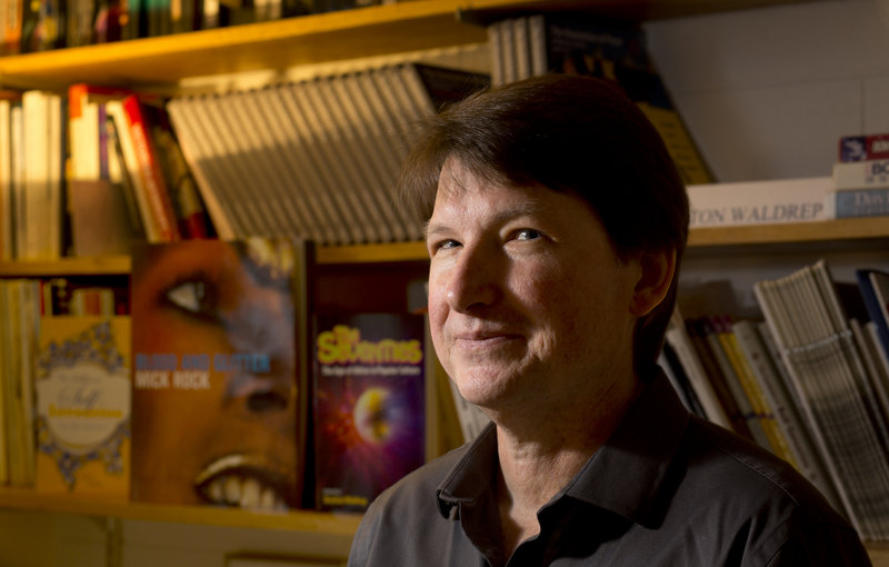 """Shelton Waldrep has been teaching a seminar on David Bowie at USM for more than 10 years. He became interested in Bowie when he first heard the 1980 album """"Scary Monsters."""""""