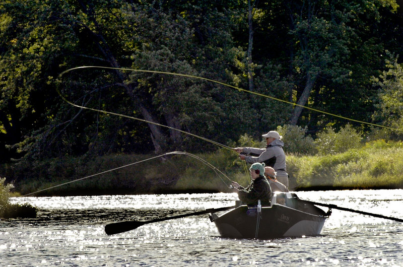 A river runs through Bethel, and its boosters say it's an attraction that, with effort, could make it the Montana of the East.