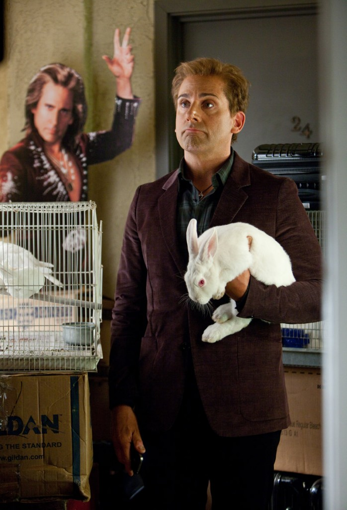 """Steve Carell is a magician whose act has gone stale in """"The Incredible Burt Wonderstone."""""""