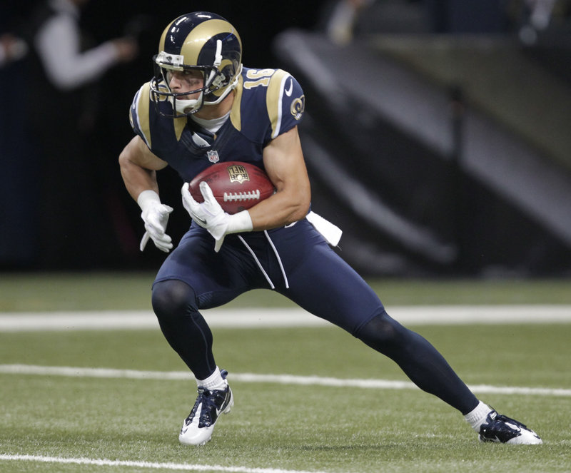 Replace Wes? Maybe not, but Danny Amendola hopes to do big things for the Patriots.