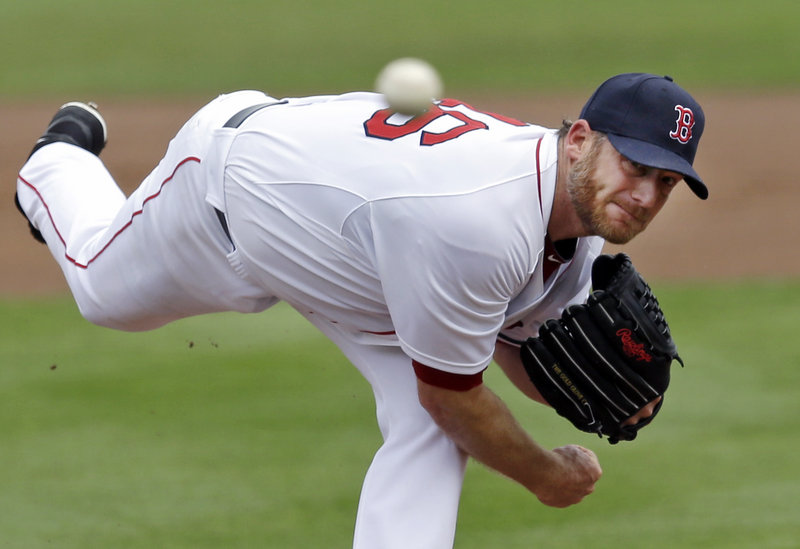 Ryan Dempster of the Red Sox pitched five innings of Tuesday's 8-7 exhibition loss to Baltimore, allowing three runs and six hits. Dempster, who pitched for the Portland Sea Dogs in 1998, has a 3.06 ERA this spring.