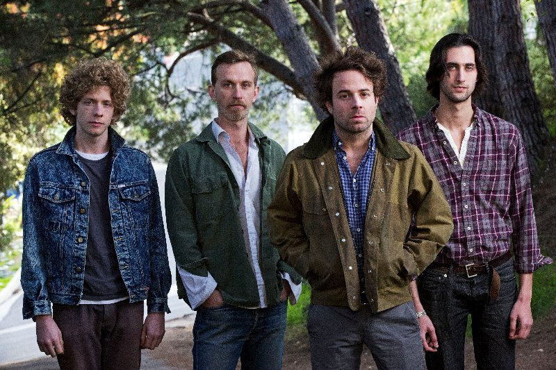 The rock band Dawes performs a free in-store concert at Bull Moose Music's Scarborough location on Wednesday.