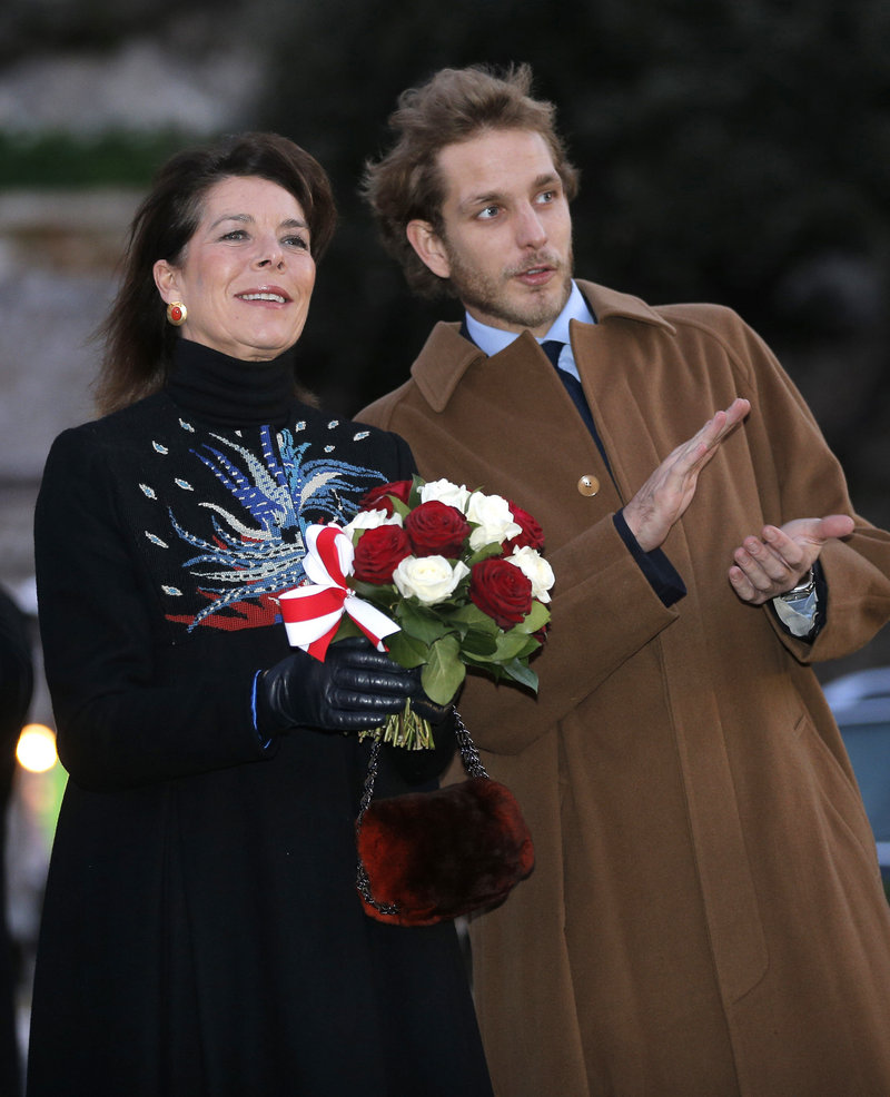 Princess Caroline and Andrea Casiraghi