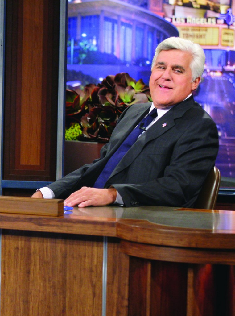 """""""Tonight Show"""" host Jay Leno is taking on-air jabs at NBC amid reports that the network plans to replace him with Jimmy Fallon."""