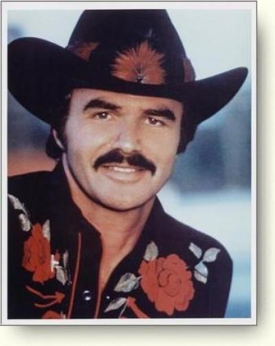 "Burt Reynolds in ""Smokey and the Bandit"""
