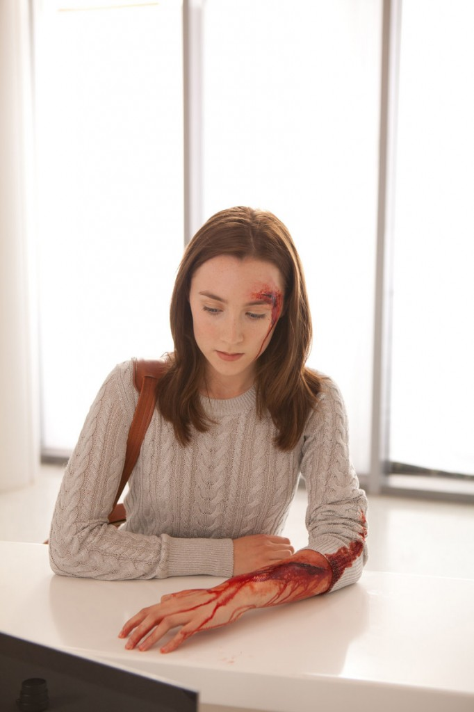 "Saoirse Ronan in a scene from ""The Host."""