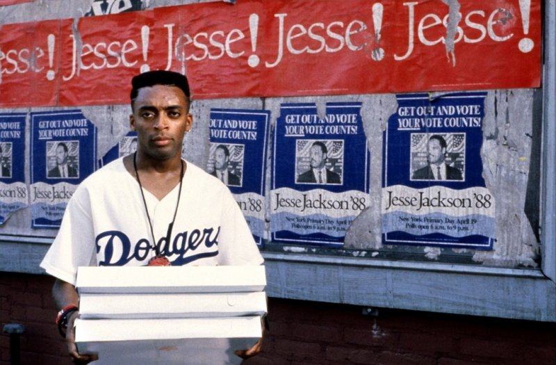 """Spike Lee in """"Do the Right Thing."""""""