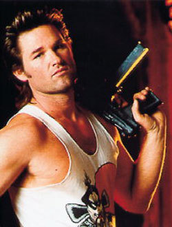 """Kurt Russell in """"Big Trouble in Little China"""""""