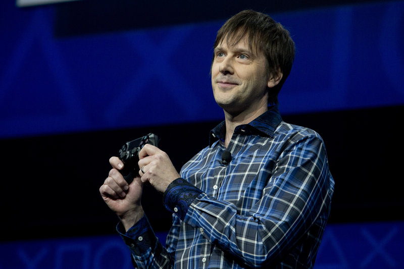 Sony's Mark Cerny talks about the new Playstation 4 video game console last month. Sony will reveal more about the technology on Wednesday.