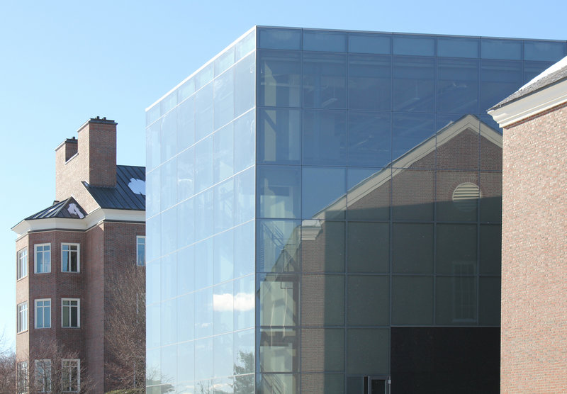 A view of the Alfond-Lunder Family Pavilion.