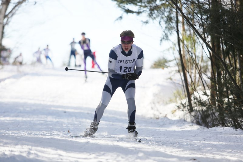 Silas Eastman of Fryeburg Academy was the top male skier in Maine for the second straight season to go with the top cross country award he captured in 2011.