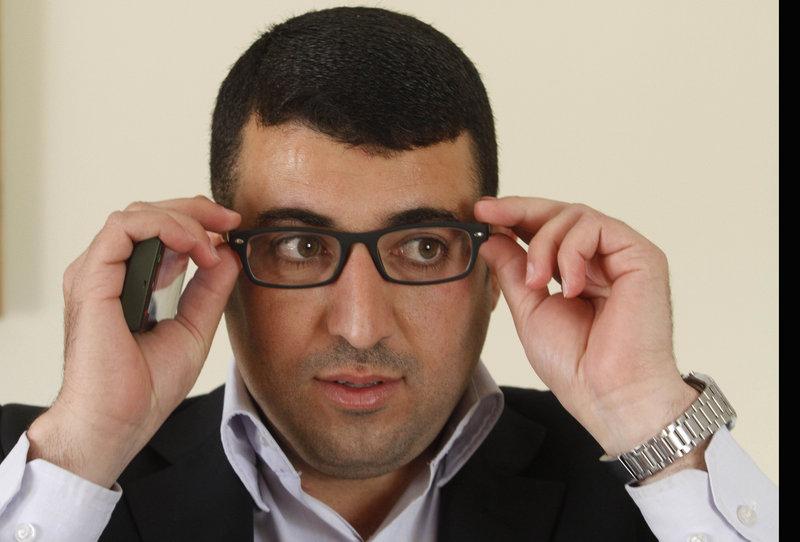 Mamdooh Hamamreh, imprisoned for photo montage
