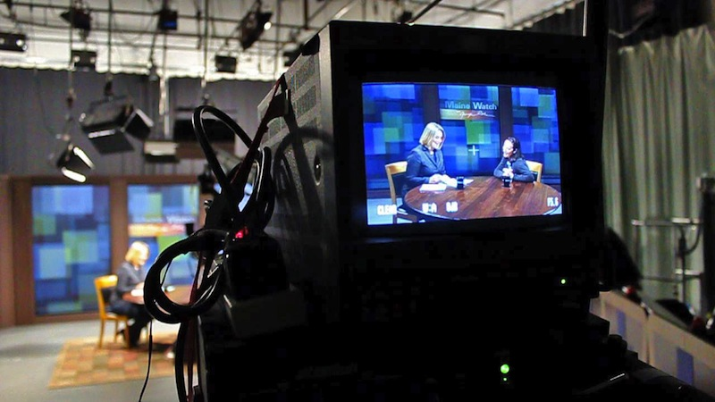 In this April 2012 file photo, Maine Public Broadcasting Network's