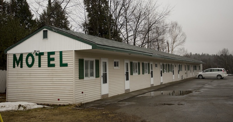 The Rivers Edge Motel in Medway, photographed Wednesday, March 13, 2013, is where Bruce Heal, also known as Bruce King, and Lynda Fogg, also known as Linda Gordon, spent time before leaving town in a U-Haul. Heal eventually took his own life on I-95 and police say he also killed sex offender Lawrence Lewis, who was found dead in his Molunkus Township home.