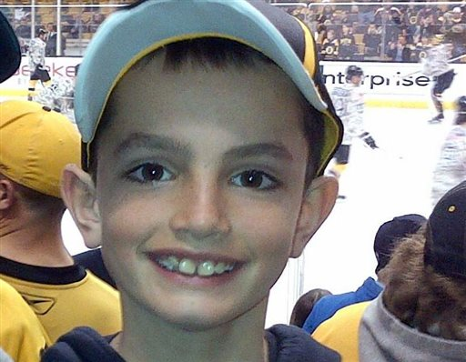 This undated photo provided by Bill Richard shows his son, Martin Richard, in Boston. Martin Richard, 8, was among the people killed in the explosions at the finish line of the Boston Marathon on Monday.